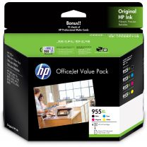 HP 955XL 2PD46A Ink Value Pack