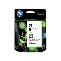 HP 21 + HP 22 Combo Ink Pack