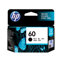 HP 60 Black Ink, 200 Page Yield