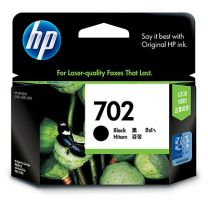 HP 702 Black Ink 600 Page Yield