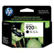 HP 920XL Black Ink 1,200 Page Yield