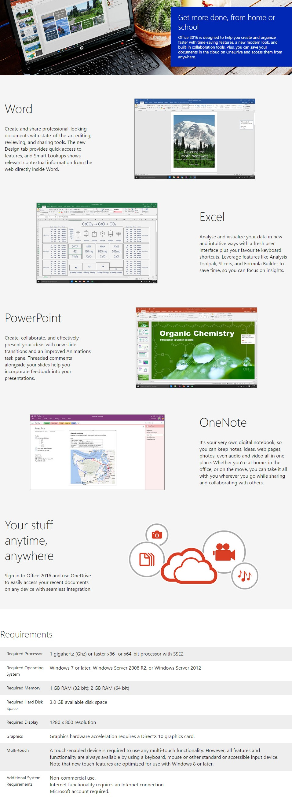 microsoft office home and business 2016 multi user