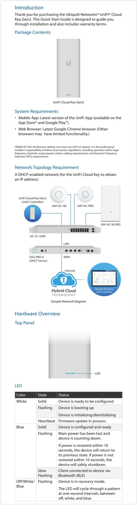 Details about Ubiquiti UniFi Cloud Key Gen2 With Battery Backup, 4x Faster  Than Previous Gen